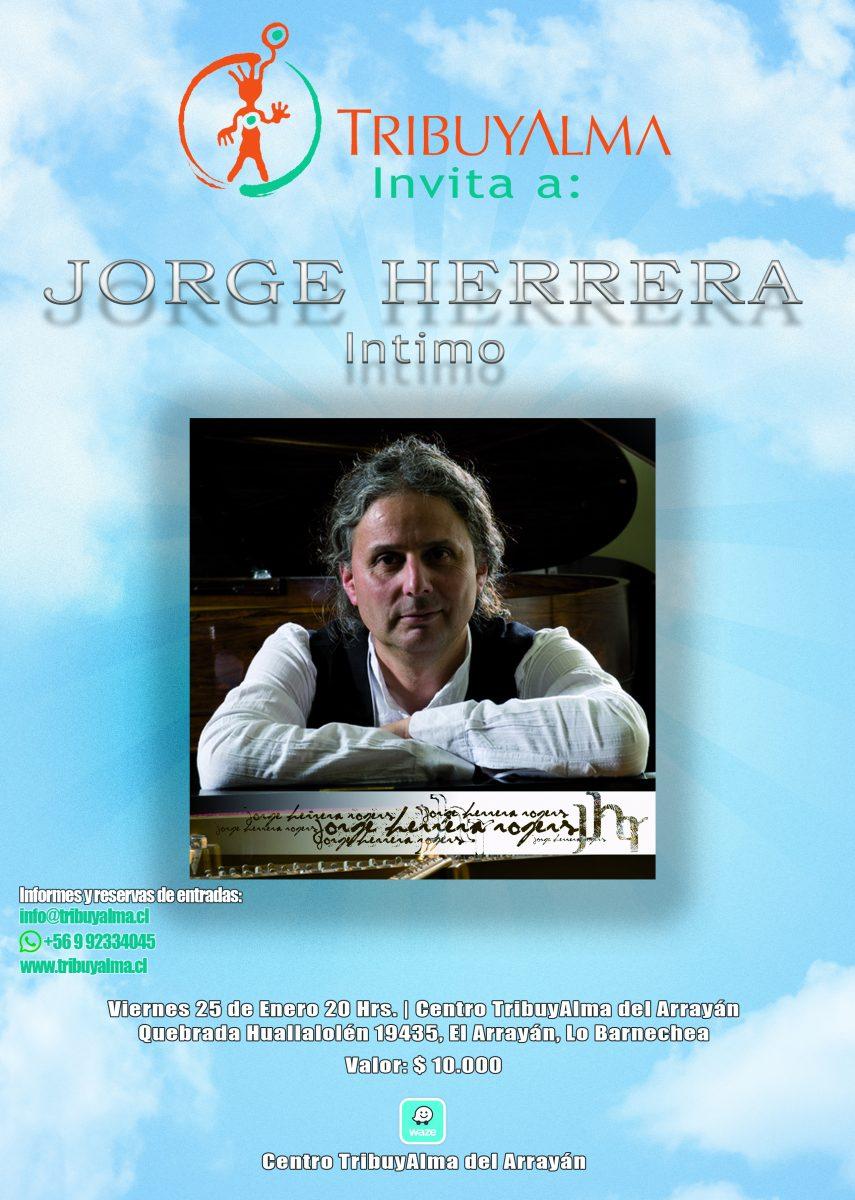 Concierto Íntimo Jorge Herrera