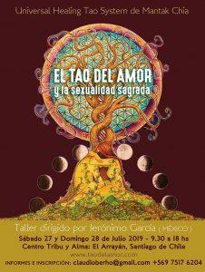 EL TAO DEL AMOR Y LA SEXUALIDAD SAGRADA @ Centro TribuyAlma del Arrayán